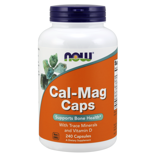 NOW FOODS -Cal-Mag - 240 Capsules