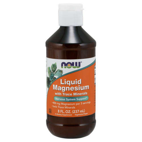 NOW FOODS -Liquid Magnesium - 8 fl. oz.