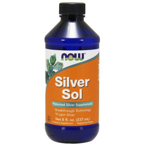 NOW FOODS -Silver Sol - 8 fl.oz.