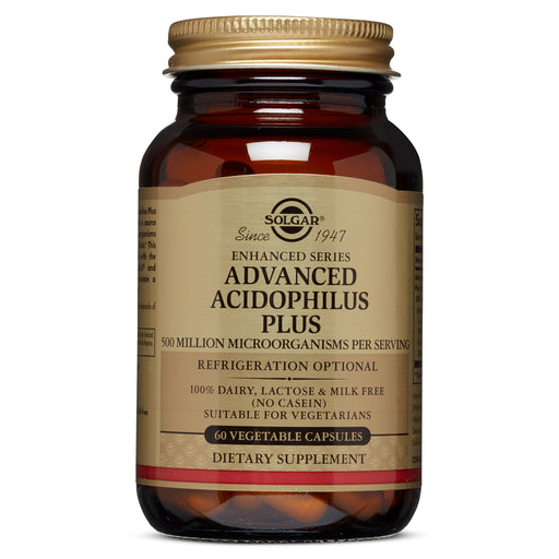 Solgar- Advanced Acidophilus Plus Vegetable Capsules- 60