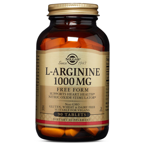 Solgar- L-Arginine 1000 mg Tablets- 90