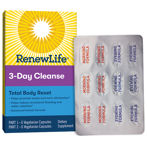 Renew Life - 3 Day Cleanse - Highland Health Foods
