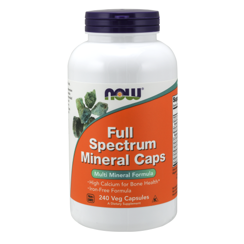 NOW FOODS -Full Spectrum Mineral Caps - 240 Veg Capsules