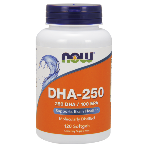 NOW FOODS -DHA-250 - 120 Softgels
