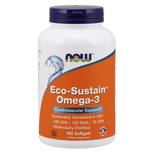 NOW FOODS -Eco-Sustain Omega-3 - 180 Softgels