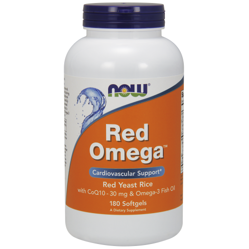 NOW FOODS -Red Omega™ - 180 Softgels