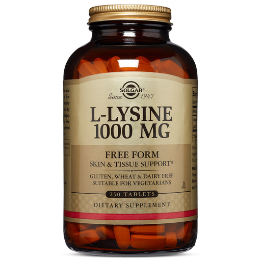 Solgar- L-Lysine 1000 mg Tablets- 250