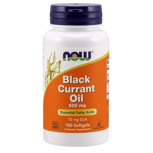 NOW FOODS -Black Currant Oil 500 mg - 100 Softgels