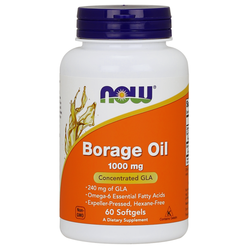 NOW FOODS -Borage Oil 1000 mg - 60 softgels