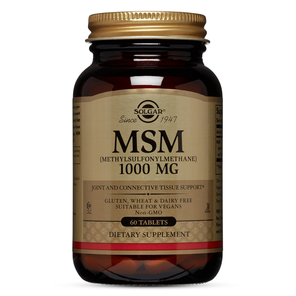 solgar msm 1000 mg tablets 60