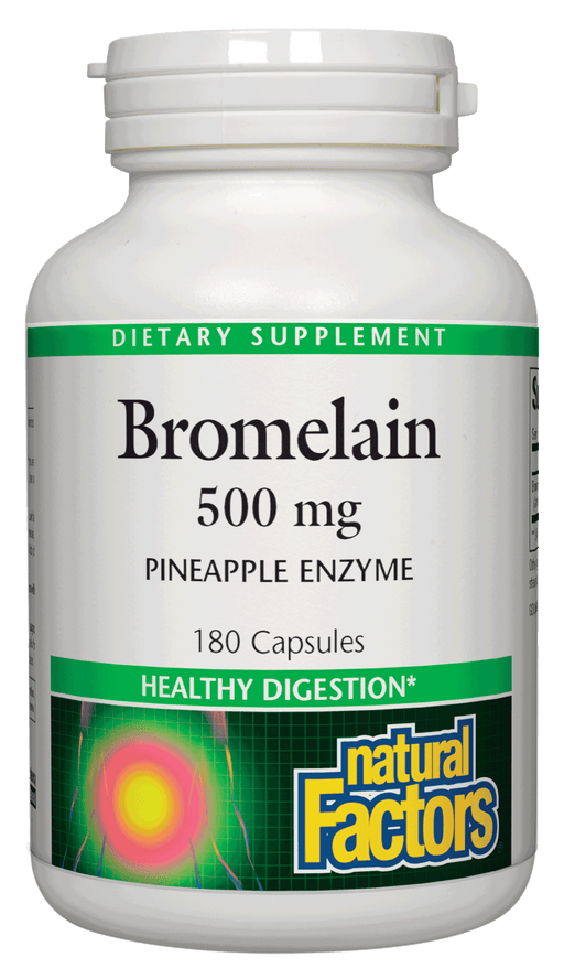 Natural Factors-Bromelain 500 mg 180 CAP
