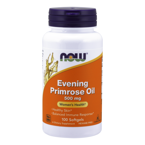 NOW FOODS -Evening Primrose Oil 500 mg -100 Softgels