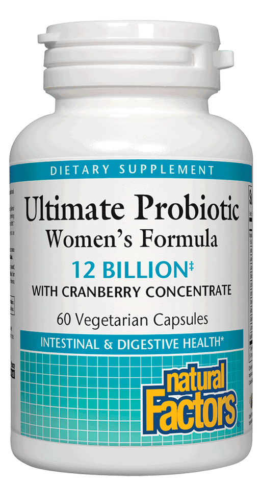 Natural Factors-Ultimate Probiotic Women's Formula 60 VCAP