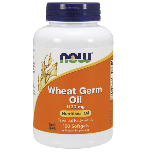 NOW FOODS -Wheat Germ Oil - 100 Softgels