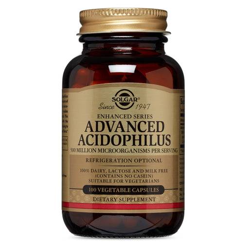 Solgar- Advanced Acidophilus Vegetable Capsules- 100