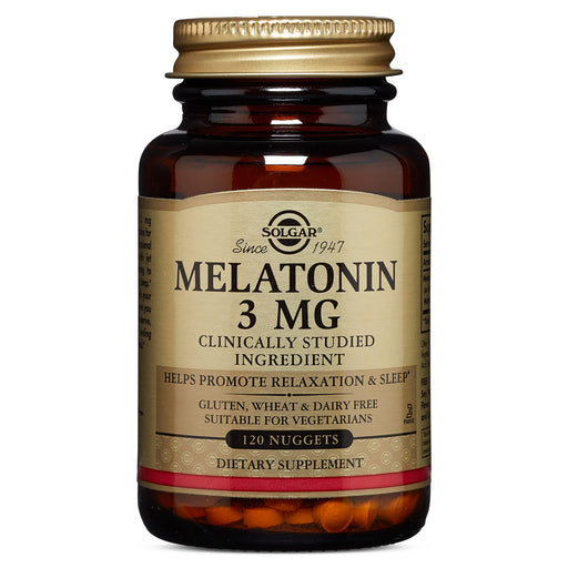 solgar melatonin 3 mg nuggets 120