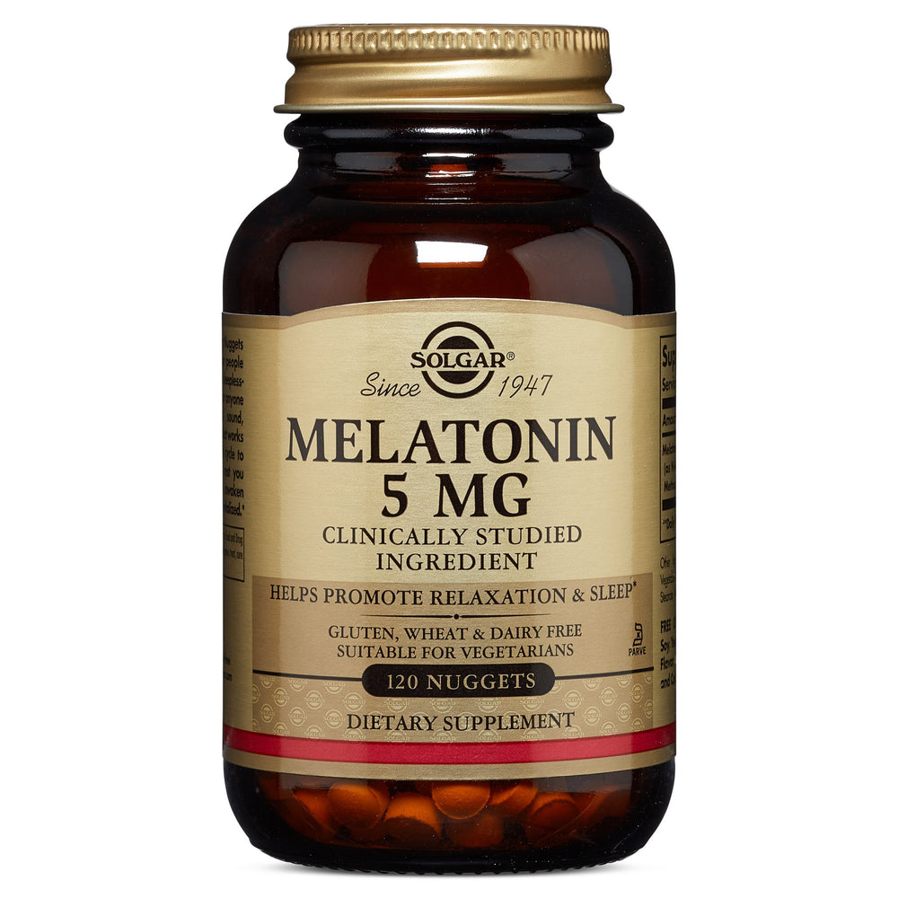 Solgar- Melatonin 5 mg Nuggets- 120