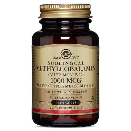 Solgar- Methylcobalamin (Vitamin B12) 1000 mcg Nuggets- 60
