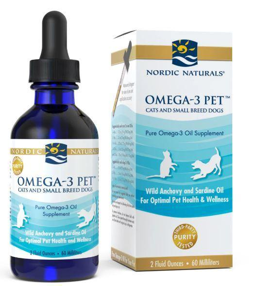 Nordic Naturals - Pet – Omega-3 Pet – unflavored 2 oz - Highland Health Foods