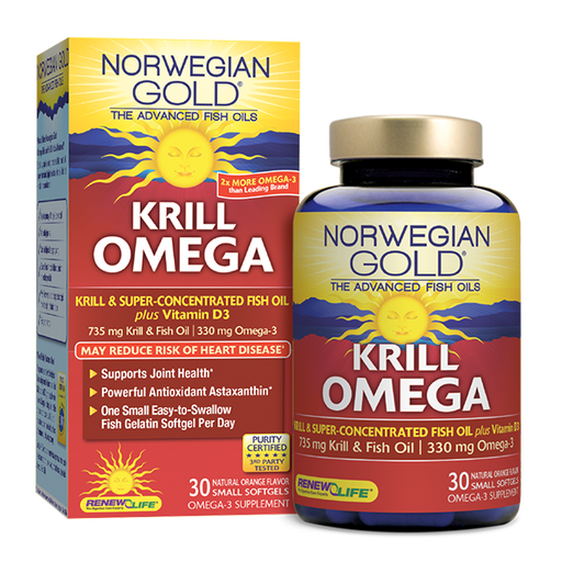 Renew Life - Norwegian Gold Krill Omega, 30 CT