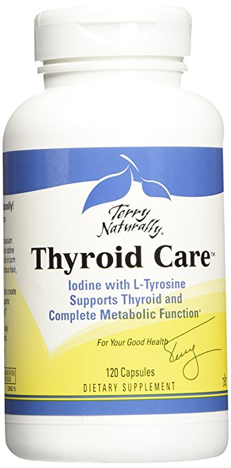 Europharma- Terry Naturally Thyroid Care - 120 - Capsules