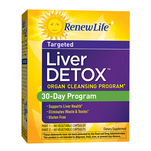 Renew Life - Liver Detox 30 day program 120ct