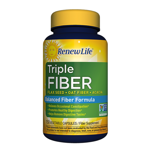 Renew Life - Triple Fiber 150ct