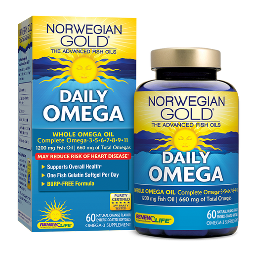 Renew Life - Norwegian Gold Daily Omega 60ct