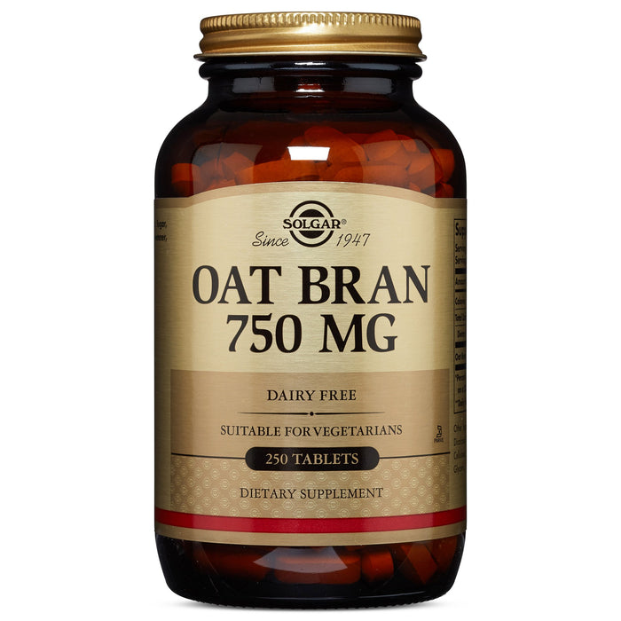 solgar oat bran 750 mg tablets 250
