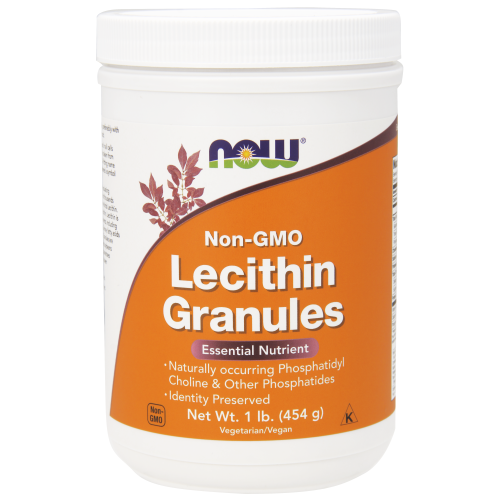NOW FOODS -Lecithin Granules Non-GMO - 1 Lb.