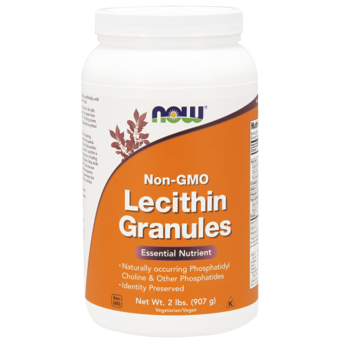 NOW FOODS -Lecithin Granules Non-GMO - 2 lbs.