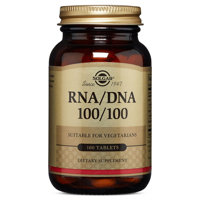 solgar rna dna 100 100 mg tablets 100