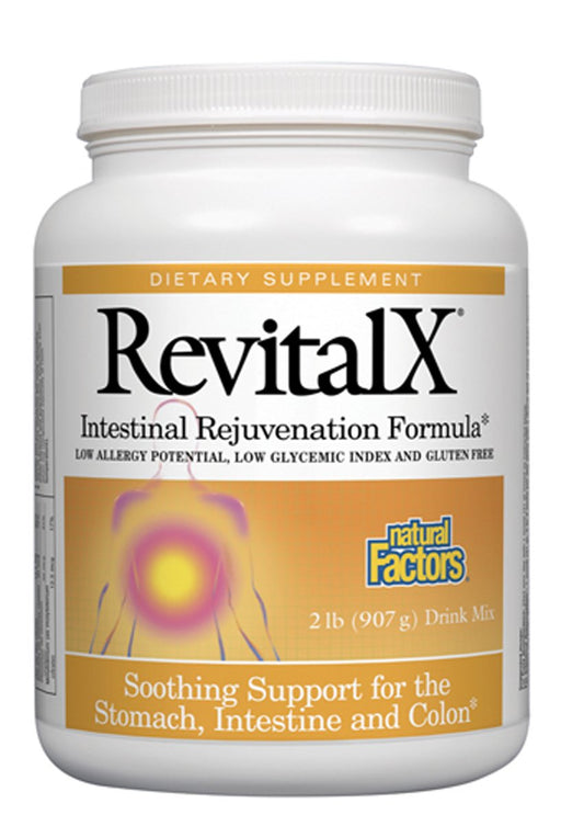 Natural Factors-RevitalX® Powder Intestinal Support 2 LB