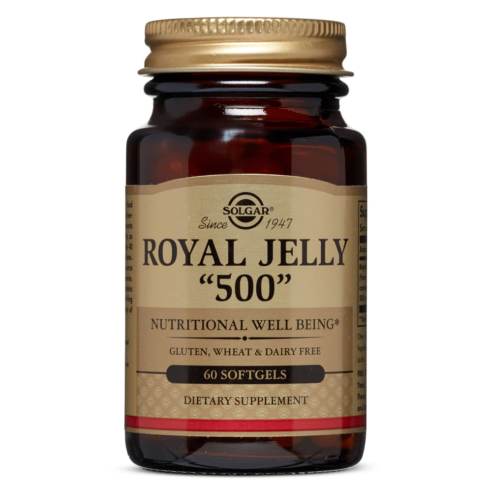 "Solgar- Royal Jelly ""500"" Softgels- 60"