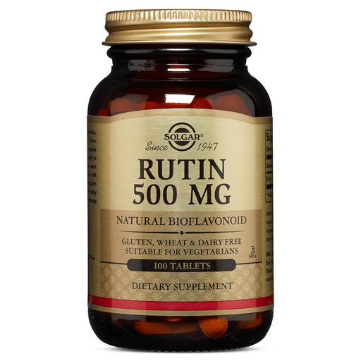 solgar rutin 500 mg tablets 100