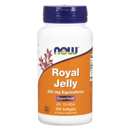 NOW FOODS -Royal Jelly 300 mg - 100 Softgels