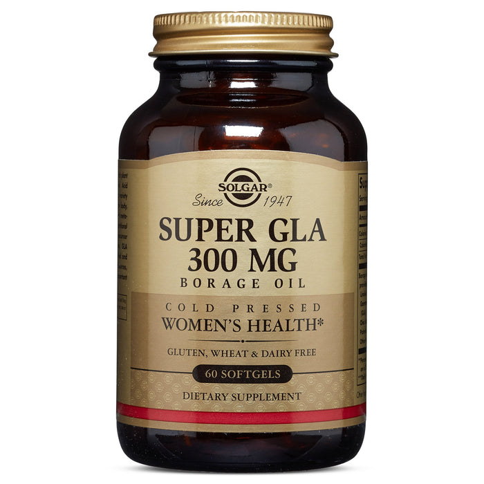 Solgar- Super GLA 300 mg Softgels- 60