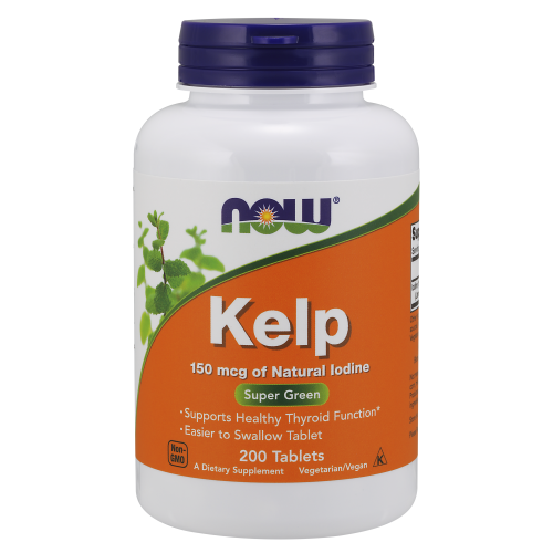 NOW FOODS -Kelp 150 mcg - 200 Tablets