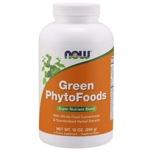 NOW FOODS -Green PhytoFoods Powder - 10 oz.