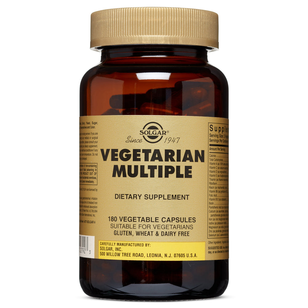 Solgar- Vegetarian Multiple Vegetable Capsules- 180