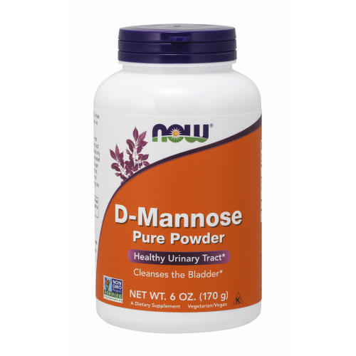 NOW FOODS -D-Mannose - 6 oz. Powder