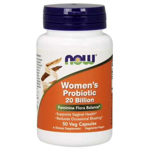 NOW FOODS -Women's Probiotic 20 Billion - 50 Veg Capsules