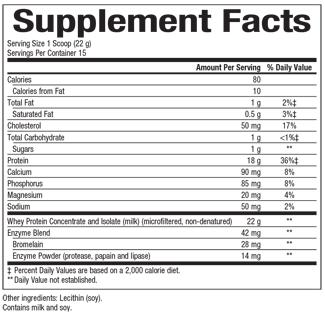 Natural Factors-Whey Factors® Powder Drink Mix Unflavored 2 LBS