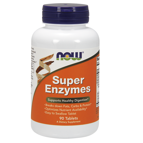 NOW FOODS -Super Enzymes - 90 Tablets