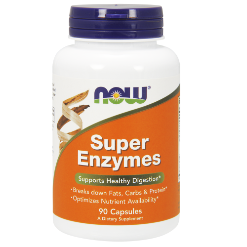 NOW FOODS -Super Enzymes - 90 Capsules