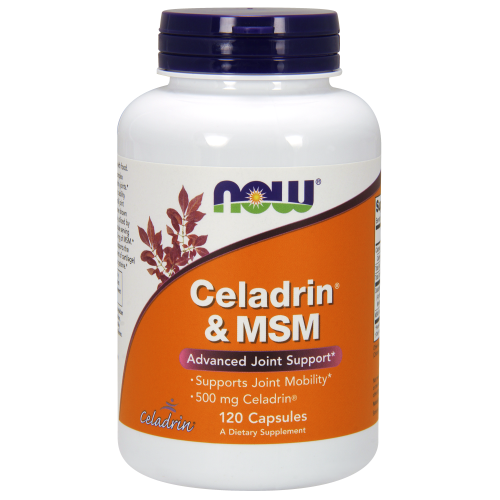 NOW FOODS -Celadrin® & MSM 500 mg - 120 Capsules
