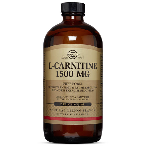 Solgar- L-Carnitine 1500 mg Liquid- 16 oz