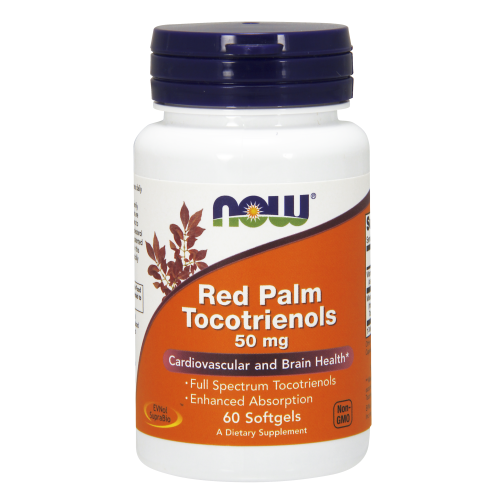 NOW FOODS -Red Palm Tocotrienols 50 mg - 60 Softgels