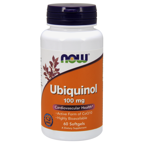NOW FOODS -Ubiquinol 100 mg - 60 Softgels