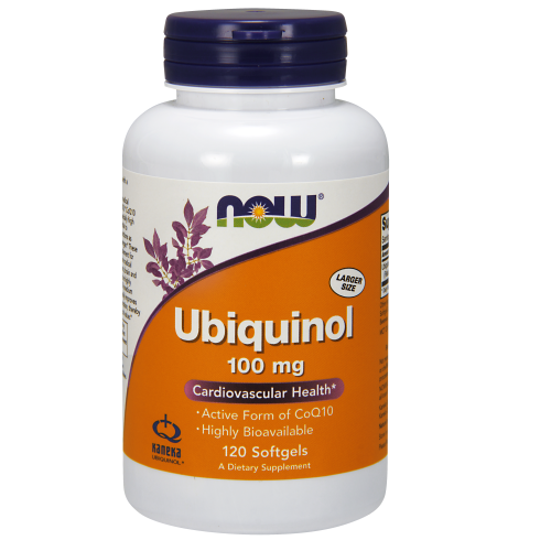 NOW FOODS -Ubiquinol 100 mg - 120 Softgels